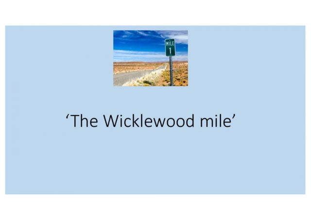 thumbnail of Wicklewood golden mile