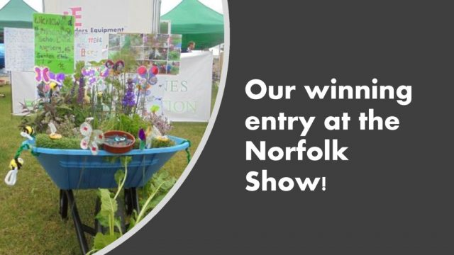 thumbnail of Our winning entry at the Norfolk Show!