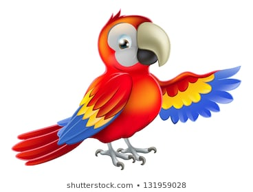 Clipart-parrot Images, Stock Photos & Vectors | Shutterstock