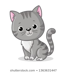 Kittens Clipart Images, Stock Photos & Vectors | Shutterstock
